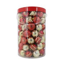berkley shatterproof ornaments 100 ct assorted bj s