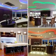 Led Strip Lights In Kitchen by 4 Metre 5050 Rgb Colour Changing Led Strip Light 240 Led U0027s