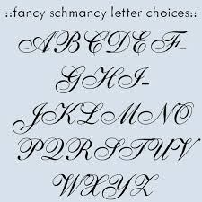 11 fancy fonts alphabet letters images fancy letter stencils
