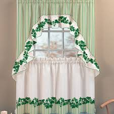 Green Kitchen Curtains by Home Accessories Cute Kitchen Curtains Design With Marburn Curtains