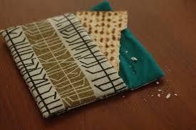 afikomen bag passover at our house whileshenaps