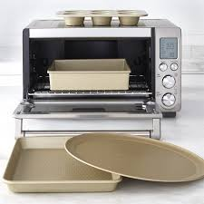 Toaster With Clear Sides Williams Sonoma Goldtouch Nonstick 4 Piece Toaster Oven Set