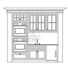 Sample Kitchen Elevation Shop Drawings Pinterest Kitchens - Draw kitchen cabinets