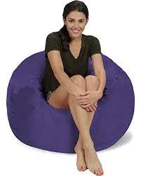bargains on chill sack bean bag chair large 3 u0027 memory foam