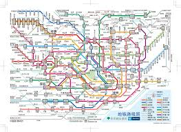 Chicago Elevated Train Map by Tokyo Subway And Train Map My Blog