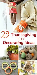 29 thanksgiving diy decorating ideas to fall in with