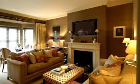 Amusing  Living Room Decor Ideas With Brown Furniture - Living room apartment design