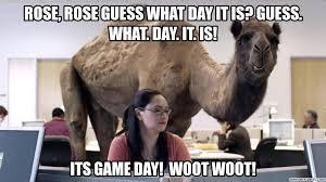 Game Day Meme - day meme
