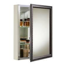 Mirrored Medicine Cabinet Doors 20 X 26 Wall Mount Mirrored Medicine Cabinet With Mirrored Door