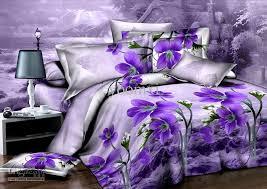 Unique Duvet Covers Queen Purple Orchid Flower Unique Duvet Quilt Cover Modern Queen 3d