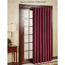 Sheer Maroon Curtains Curtain Modren Sheer Curtains For Sliding Glass Doors Door