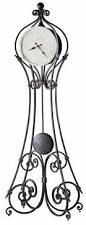 Howard Miller Chiming Mantel Clock Howard Miller Vercelli Wrought Iron Metal Floor Clock 615 004