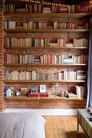 Home Office Bookshelves by Best 25 Library Shelves Ideas On Pinterest Library Bookshelves