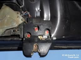 2005 honda civic trunk latch 6th coupe electric remote trunk release mod honda tech