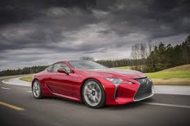 lexus lc aston martin with more than a few hints of the lfa the lexus lc arrives back
