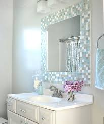 mirror tiles for bathroom 29 ideas to use all 4 bahtroom border tile types digsdigs