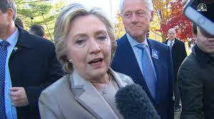 it u0027s humbling u0027 says hillary clinton after voting in chappaqua