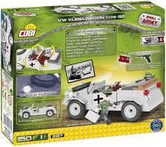 vw kubelwagen cobi 2187 vw kubelwagen type 82 wwii series 150 pcs military toy