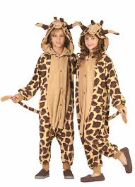 Childrens Animal Halloween Costumes by Giraffe Men U0027s Halloween Costume Walmart Com