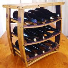 wine barrel wine bottle caddy central coast creations