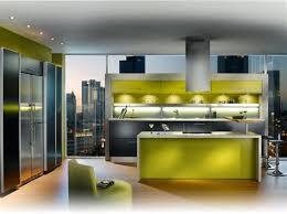 alinea cuisine equipee decoration salle salon maison 7 cuisine verte alinea 1024 764