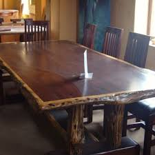 Hand Made Dining Table Set  Seat Ironwood By African Yellowood - Black dining table seats 10