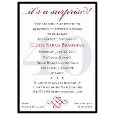40th party invitation wording redwolfblog com