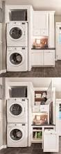 laundry room superb stacked laundry hamper utility room package