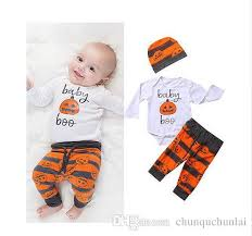 2018 pudcoco halloween baby suit clothes newborn baby boy