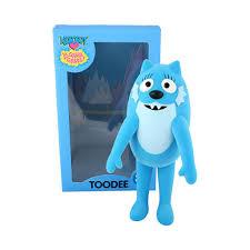 yo gabba gabba toodee 3 5 toy release designer