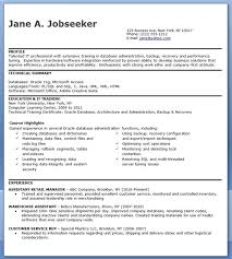 sql dba resume sample u2013 samples letter for your business workshop