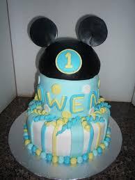 baby mickey birthday cake ideas 98621 baby mickey 1st birt