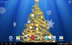 3d christmas tree wallpaper android apps on google play