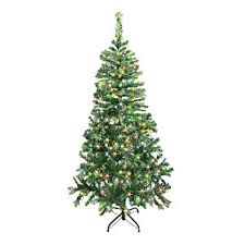 christmas tree artificial aleko ct78h250mc 6 5 christmas tree