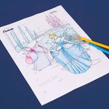 Cinderella Carriage Coloring Disney Coloring