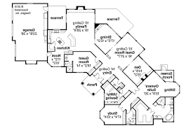 Mediterranean House Plan Mediterranean House Plans Braxton 11 040 Associated Designs