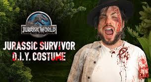 Jurassic Park Costume Halloween Diy Jurassic Survivor Costume Costumes Diy Halloween