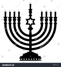 menorah candles menorah candles stock illustration 5847643