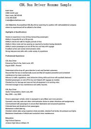 Driver Job Resume by Bus Driving Resume Samples Virtren Com
