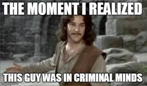 Criminal Minds Meme - gideonnnnn d discovered by ka on we heart it