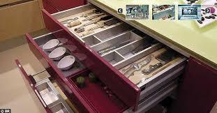 tiroirs de cuisine tiroir cuisine