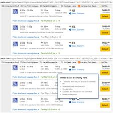 United Airlines Baggage Charge How To Make Sure You Don U0027t Accidentally Buy United U0027s Crappy U201cbasic