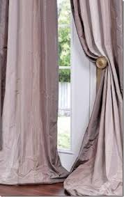 White Silk Curtains White Taffeta Curtains Foter