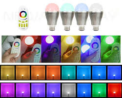 Changing Color Light Bulbs 9w B22 Bayonet Led Color Changing Light Bulb With Wireless Remote
