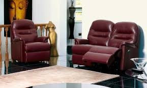 Two Seater Electric Recliner Sofa Leather With Two Recliners Tags 2 Seater Leather Recliner