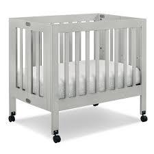 Grey Mini Crib Babyletto Origami Mini Crib Piccolinobaby