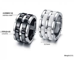 matching rings korean ceramic matching rings for 2 personalized