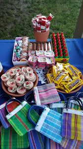 mexican candy buffet mexican themed fiesta party planning