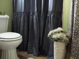 Ombre Ruffle Shower Curtain Gypsy Ruffled Shower Curtain Ruffled Shower Curtain Ideas