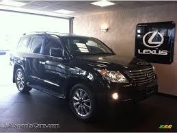 lexus lx 570 black interior 2010 lexus lx 570 in black onyx 055035 nysportscars com cars